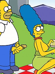 Marge Invites Homer To A Sex Picnic